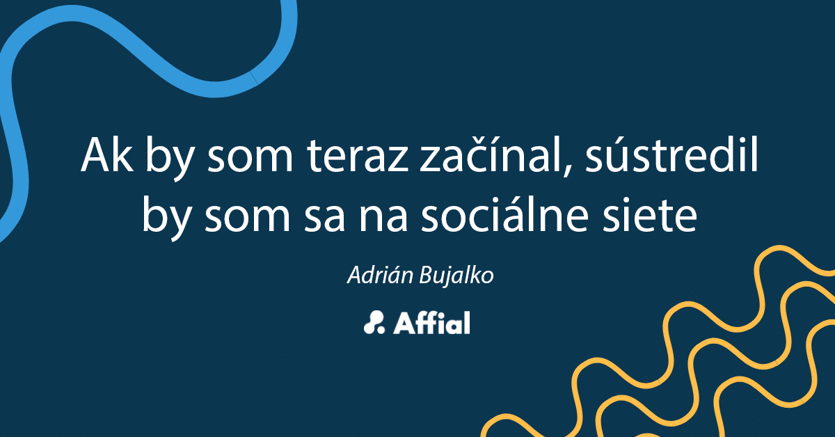 Adrián Bujalko rozhovor