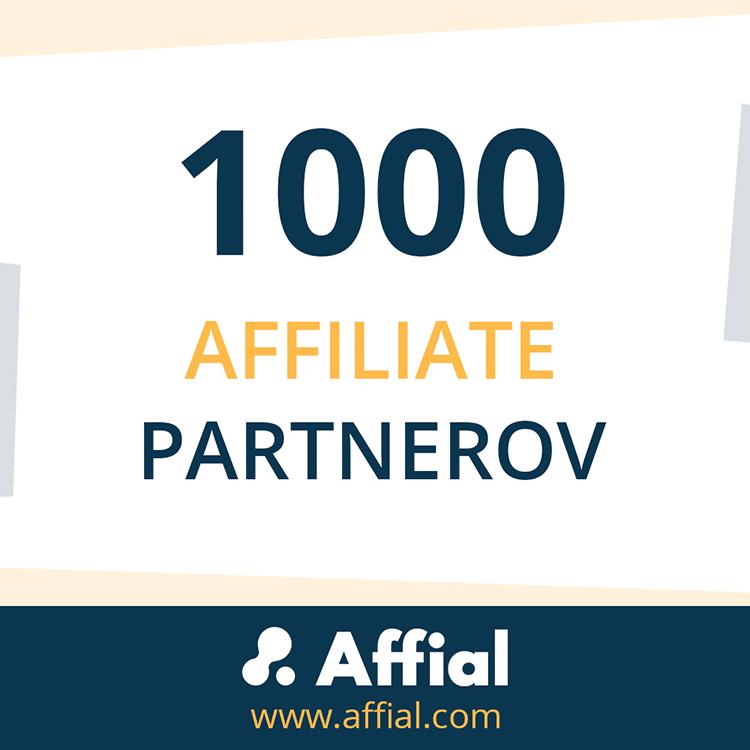 1000 partnerov v sieti Affial