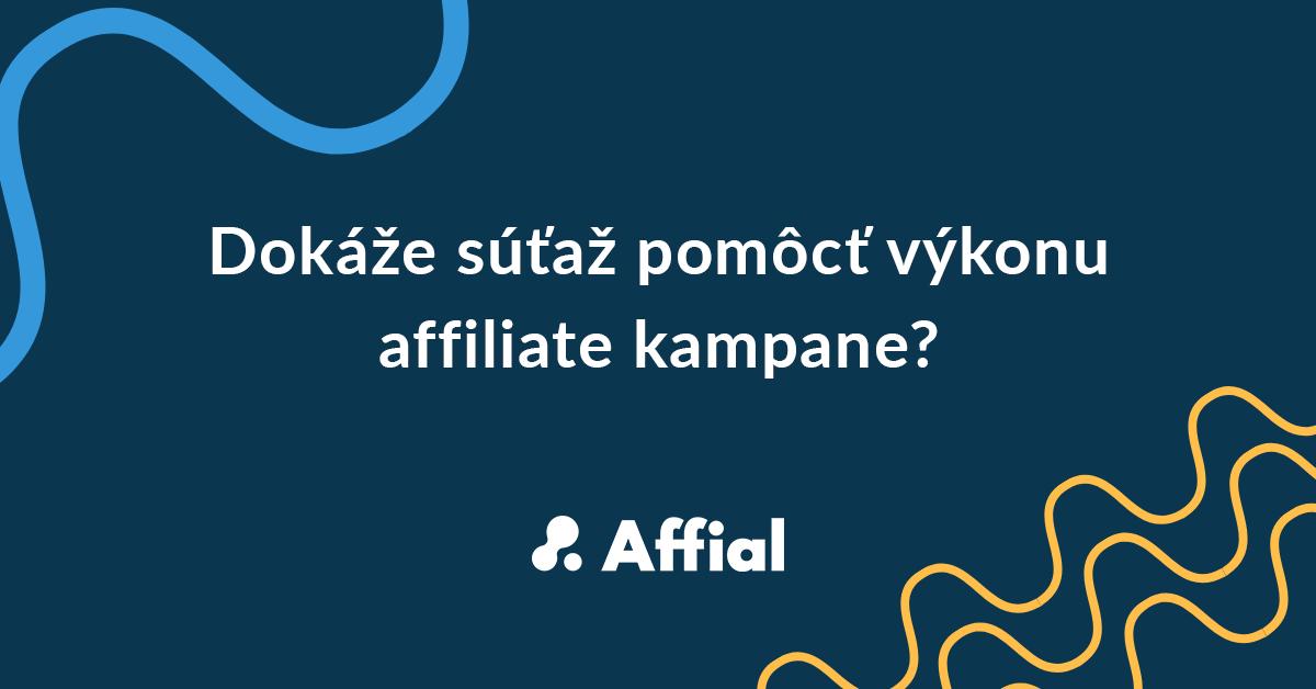 súťaže v affiliate sieti