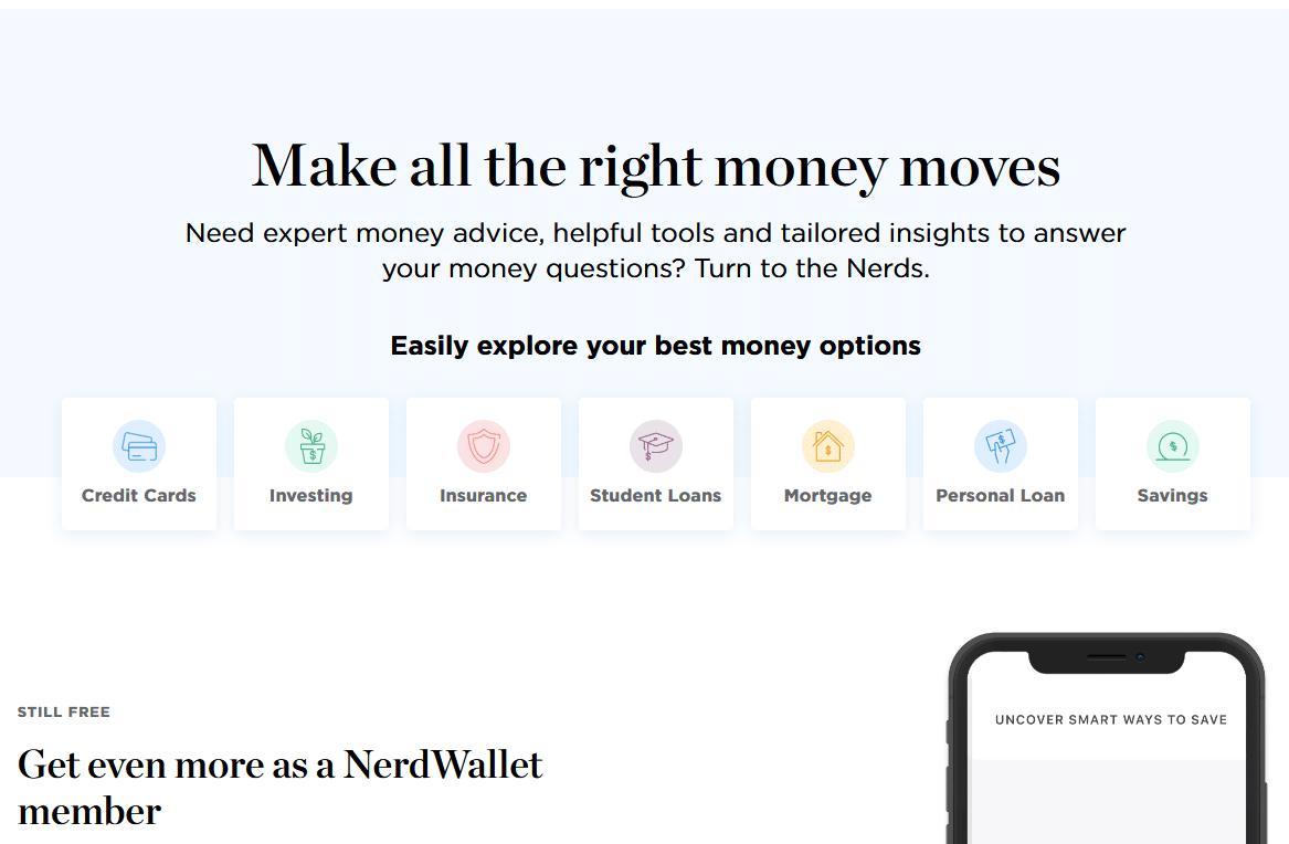 Nerdwallet affiliate