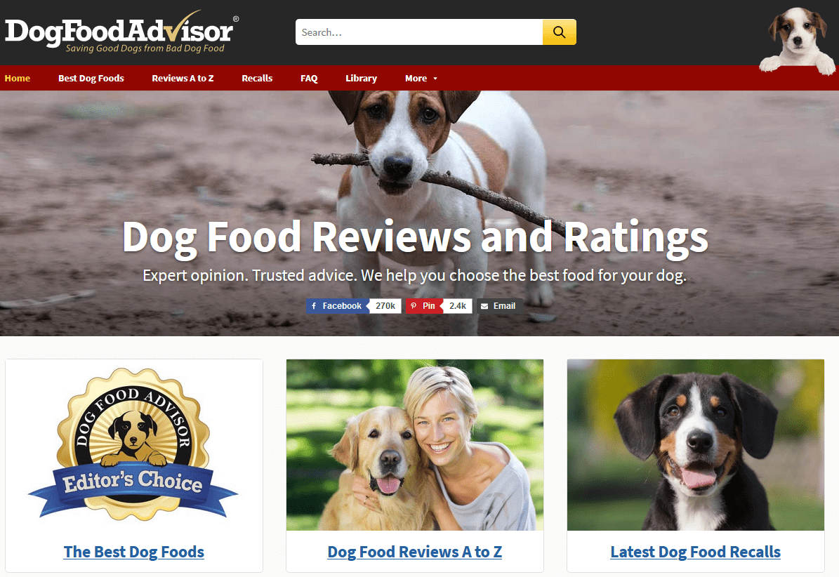 dogfoodadvisor affiliate