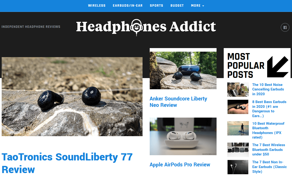 headphones addict affiliate