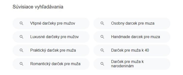 darčeky google