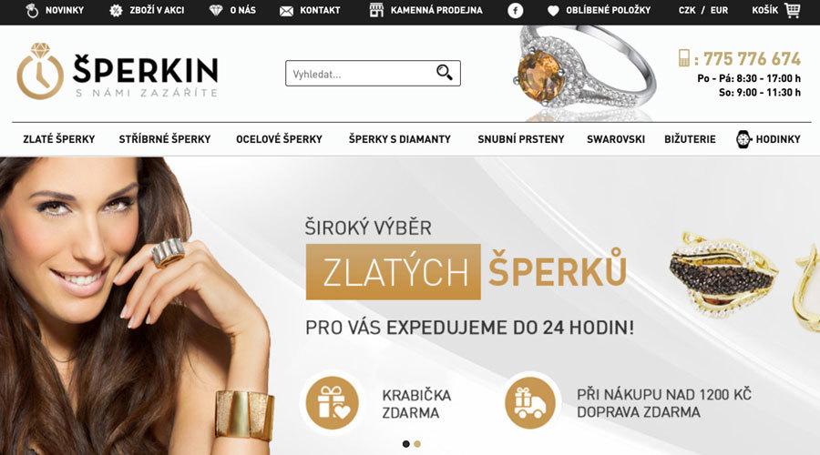 Sperkin.cz affiliate