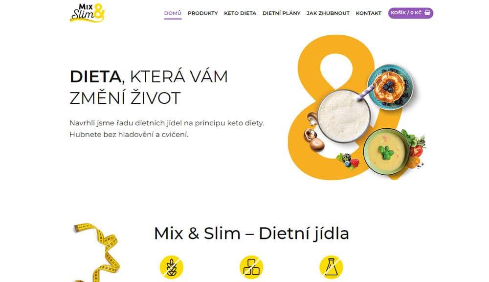 Mixslim affiliate kampaň
