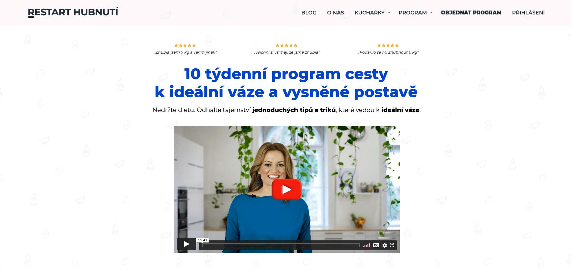 restarthubnuti.cz - náhled