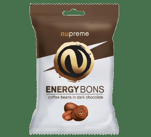 Energy Bons tmavá čokoláda 70g NUPREME