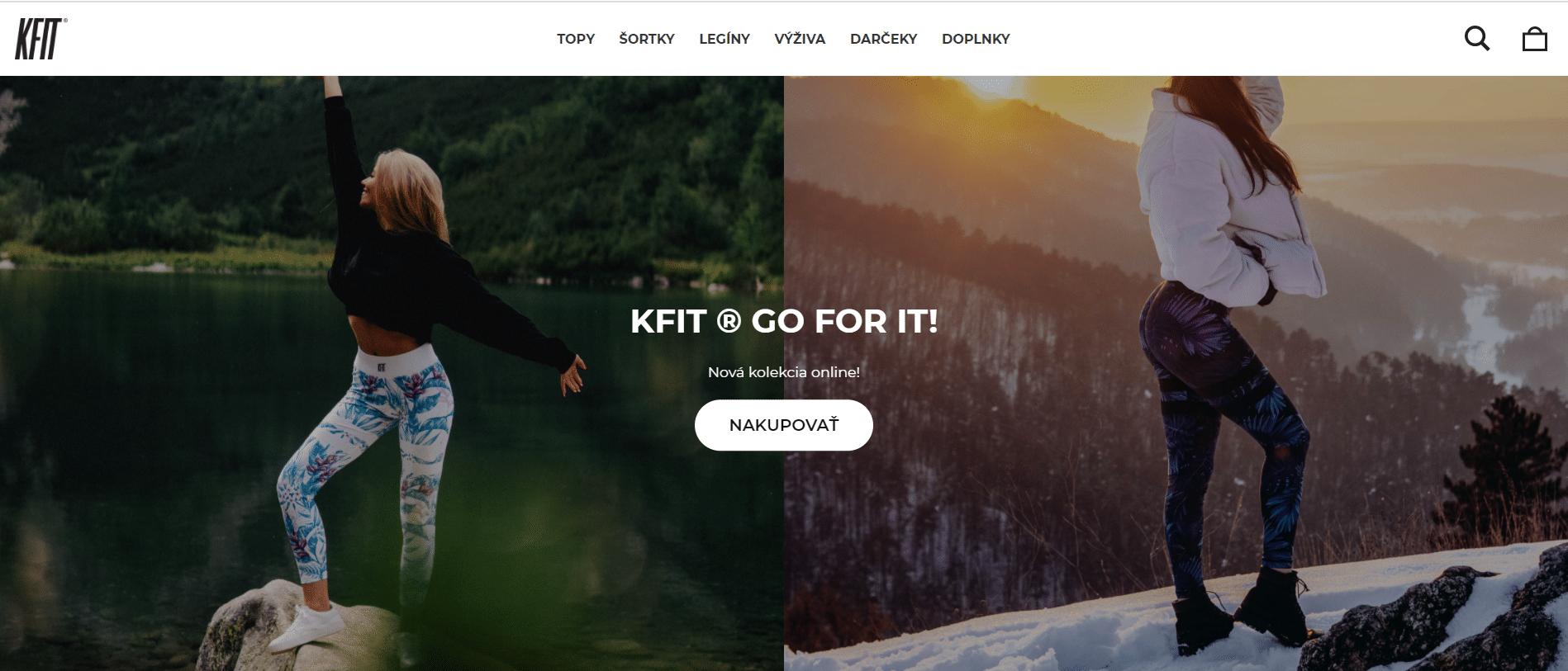 Klotinkfit-homepage