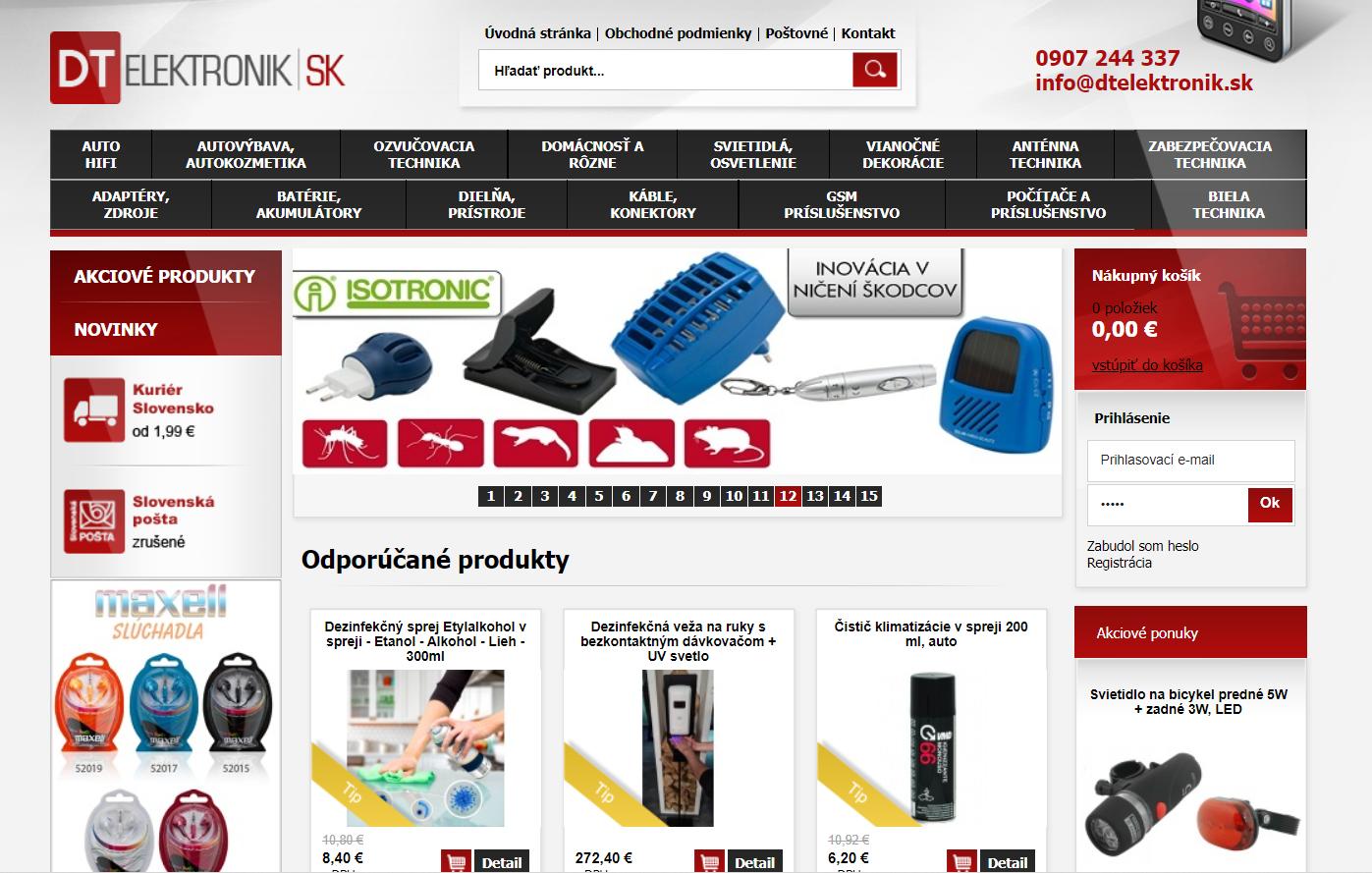DTelektronik Homepage