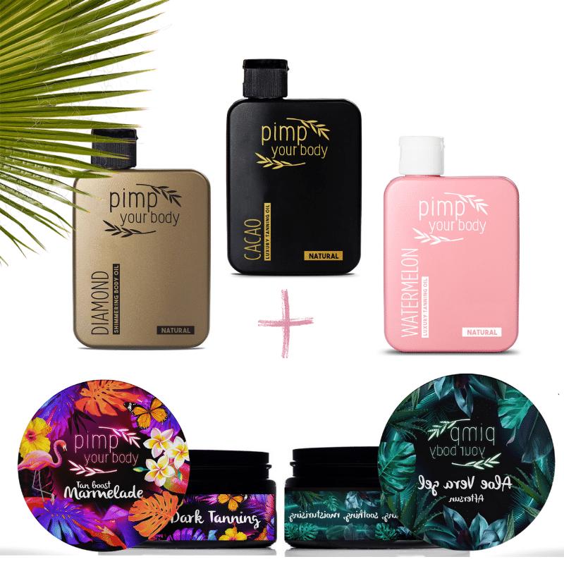 PIMP Ultimate tanning kit